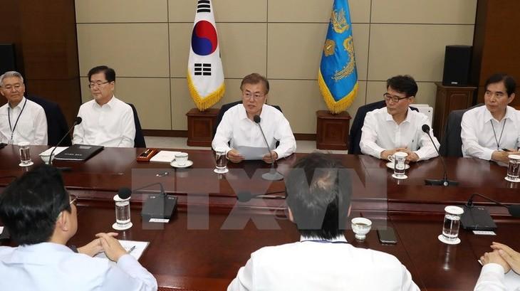 Republik Korea mempertimbangkan sanksi-sanksi tersendiri terhadap RDRK - ảnh 1
