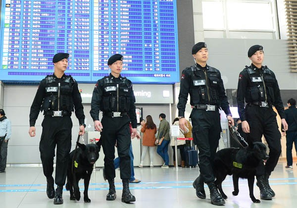 Republik Korea memperketat keamanan menjelang kunjungan Presiden AS - ảnh 1