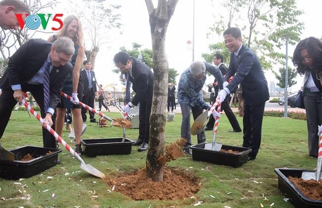 Pembukaan Taman APEC - ảnh 3