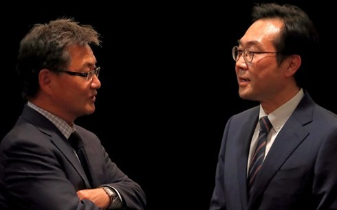 Republik Korea dan AS berkomitmen menjalankan pemecahan secara damai masalah RDRK - ảnh 1