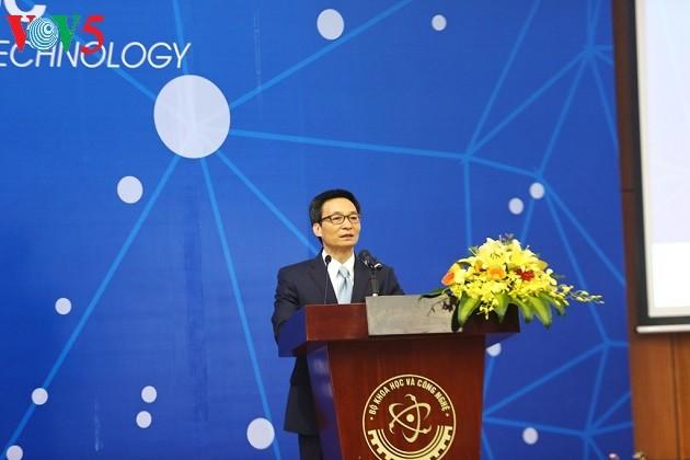 Upacara mengoperasikan Institut Ilmu Pengetahuan dan Teknologi Vietnam-Republik Korea - ảnh 1