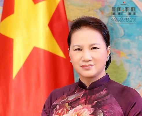 Ketua MN Vietnam, Nguyen Thi Kim Ngan berangkat melakukan kunjungan resmi ke Singapura dan Australia - ảnh 1