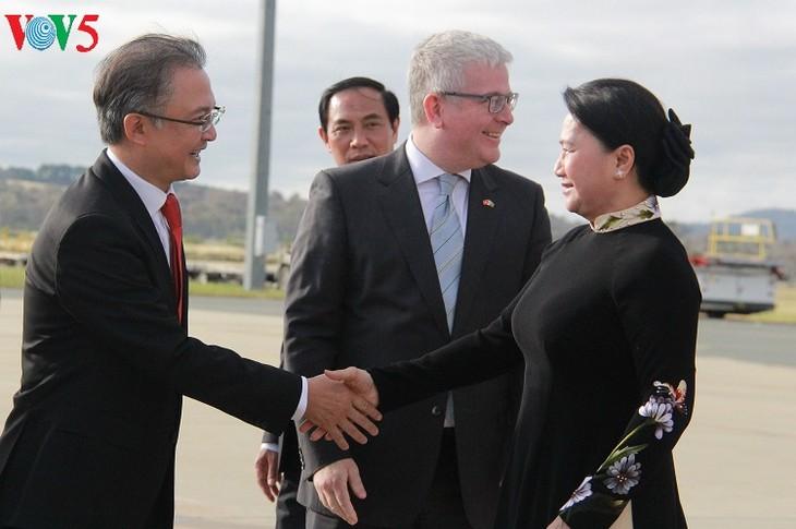 Ketua MN Vietnam, Nguyen Thi Kim Ngan melakukan kunjungan resmi di Australia - ảnh 1