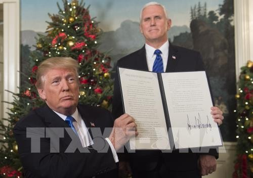 AS mengakui Jerusalem sebagai Ibukotanya Israel - ảnh 1