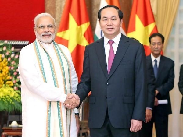 India selalu merupakan sahabat setia dan mitra perkembangan bagi Vietnam - ảnh 1