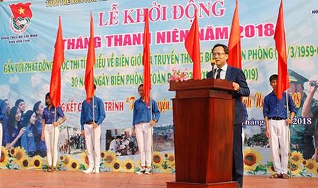 Daerah-daerah di Vietnam mengawali Bulan Pemuda tahun 2018 - ảnh 1