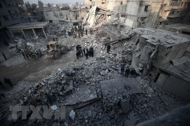 PBB berencana membawa barang bantuan kemanusiaan ke Ghouta Timur pada pekan depan - ảnh 1