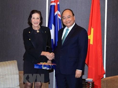 PM Vietnam, Nguyen Xuan Phuc menerima para pemimpin Negara Bagian New South Wales, Australia - ảnh 1