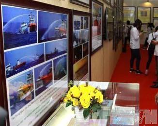 """Pameran peta dan dokumen """"Hoang Sa, Truong Sa –wilayah Vietnam : Bukti-bukti sejarah dan hukum di diadakan Provinsi Thanh Hoa - ảnh 1"""