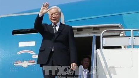 Media Kuba memberitakan secara menonjol kunjungan yang akan dilakukan Sekjen KS PKV Nguyen Phu Trong - ảnh 1