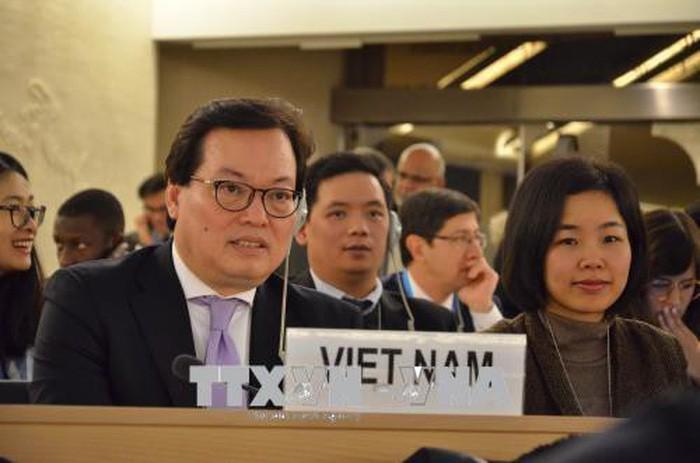 Vietnam memprotes keras komunike yang dikeluarkan oleh pakar HAM PBB - ảnh 1