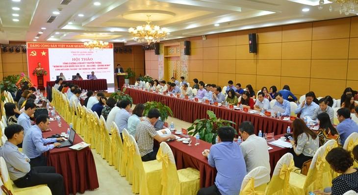 Memperkuat konektivitas media bagi Tahun Pariwisata Nasional Ha Long-Quang Ninh 2018 - ảnh 1