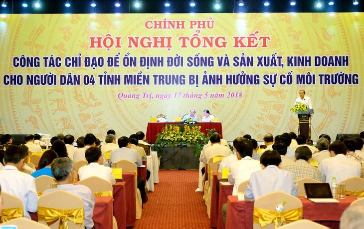 Semua daerah harus menjaga lingkungan laut- satu keunggulan yang dimiliki Vietnam dan 4 provinsi  Vietnam Tengah - ảnh 1