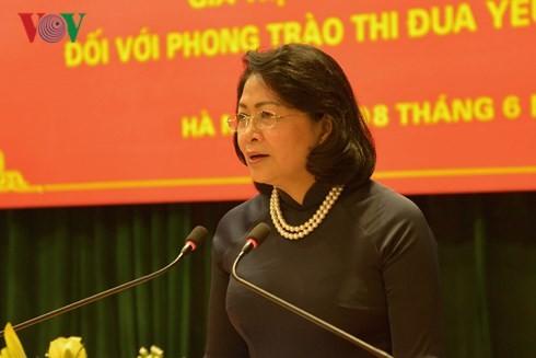 Seruan kompetisi patriotik dari Presiden Ho Chi Minh-Nilai teoti dan praktek terhadap gerakan kompetisi patriotik sekarang ini - ảnh 1