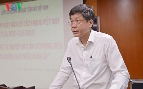 Gabungan Ranting Persatuan Wartawan VOV memperingati ultah ke-93 Hari Pers Revolusioner Viet Nam - ảnh 1