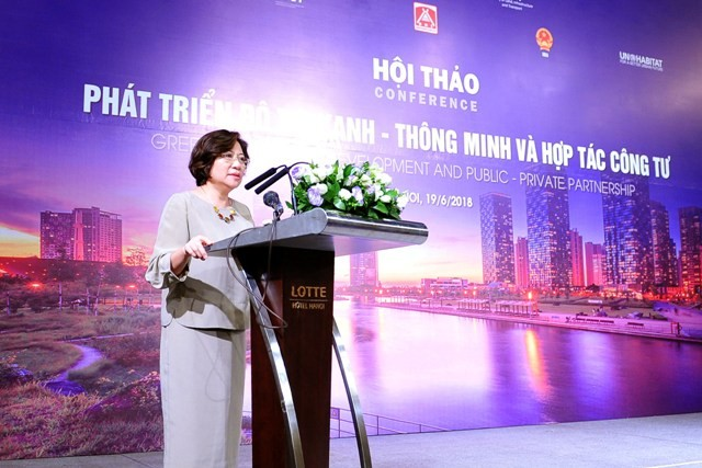 Vietnam menuju ke perkembangan perkotaan pintar dan pertumbuhan hijau - ảnh 1