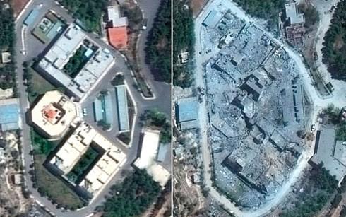 Rusia menuduh AS yang telah menimbulkan tekanan terhadap OPCW yang bersangkutan dengan basis-basis militer Suriah - ảnh 1
