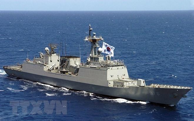 Dua bagian negeri Korea mengadakan kembali kanal hubungan maritim - ảnh 1