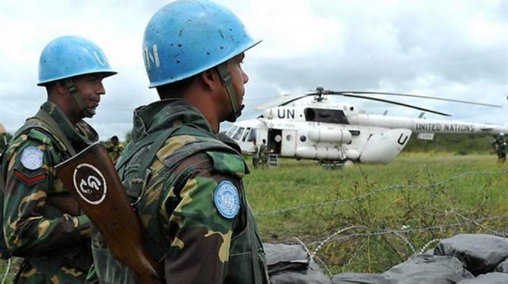 PBB mengurangi anggaran belanja bagi aktivitas pasukan penjaga perdamaian - ảnh 1