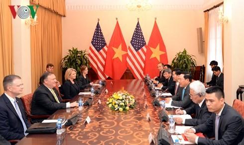Mendorong perkembangan  hubungan kemitraan komprehensif Vietnam-AS secara berhasil-guna - ảnh 1