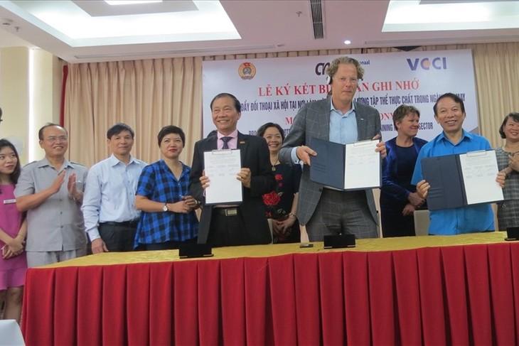 Mendorong dialog masyarakat dalam cabang tekstil dan produk tekstil Vietnam - ảnh 1