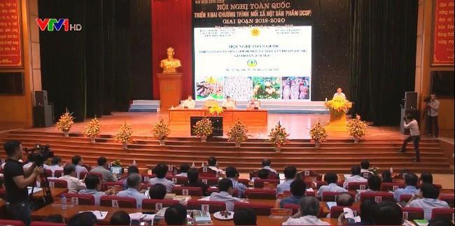 """Konferensi Nasional tentang """"Satu kecamatan, satu produk"""" tahap 2018-2020 - ảnh 1"""