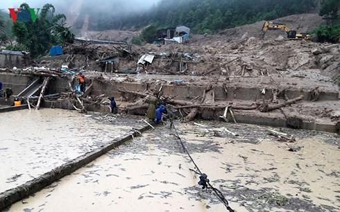 Provinsi-provinsi di daerah Vietnam Utara berinisiatif menanggulangi bencana hujan, banjir dan banjir bandang - ảnh 1