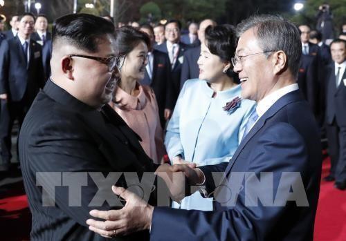 Republik Korea dan RDRK memulihkan secara total lini  hubungan militer di sebelah Barat - ảnh 1