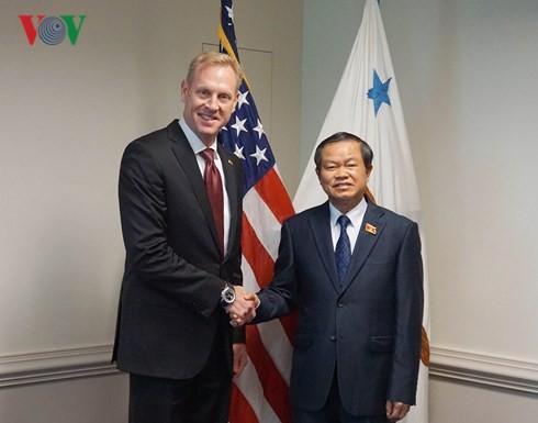 Kunjungan Wakil Ketua MN Vietnam, Do Ba Ty akan turut mendorong lebih lanjut lagi hubungan kemitraan komprehensif Vietnam-AS - ảnh 1