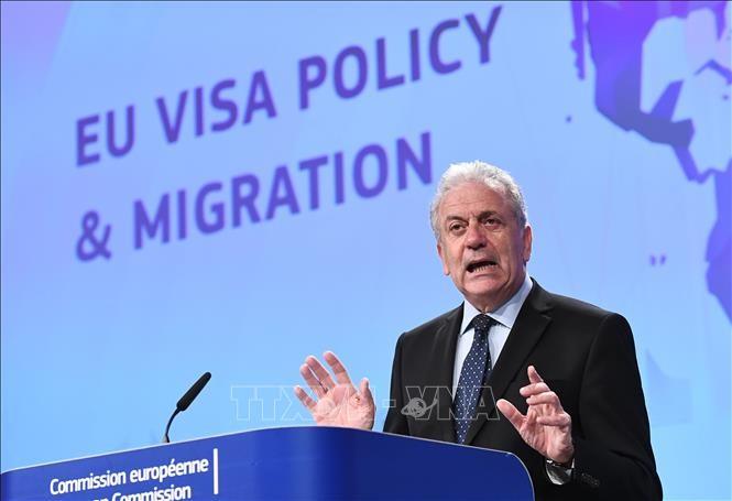 Uni Eropa memberikan gagasan keuangan bagi negara-negara anggota-nya yang menerima kaum migran - ảnh 1