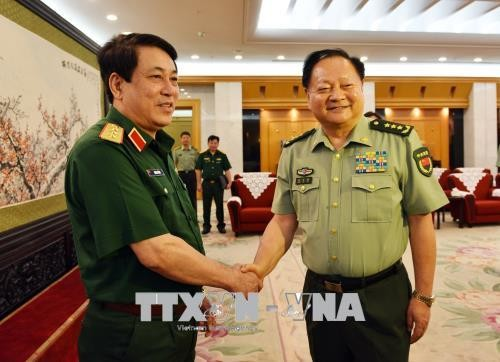 Memperkuat hubungan pertahanan Vietnam-Tiongkok - ảnh 1