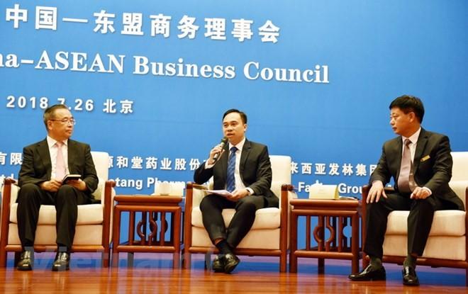 Pembukaan Dialog peluang bisnis Tiongkok-ASEAN - ảnh 1