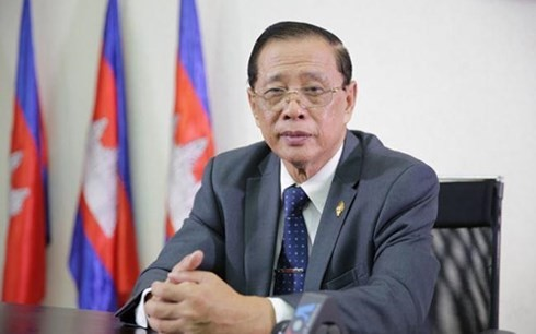 CPP mencapai kemenangan pada pemilu parlemen Kamboja angkatan VI - ảnh 1