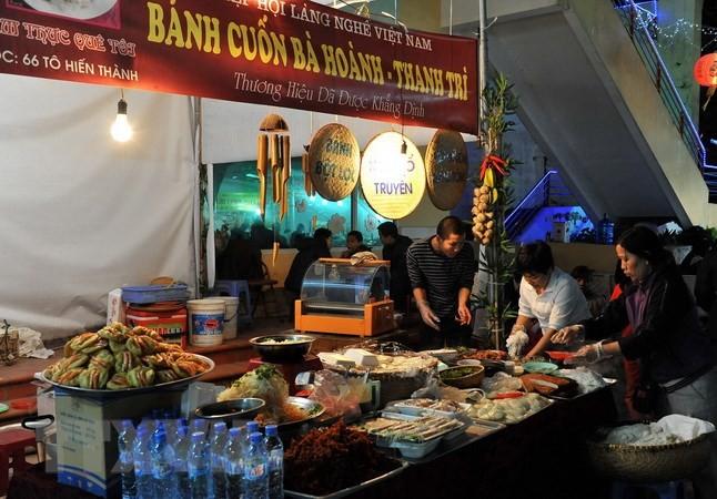 Kota Ha Noi untuk pertama kalinya mengadakan festival budayaan-kuliner - ảnh 1