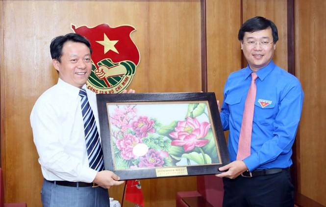 Mendorong kerjasama kaum pemuda dua negeri Vietnam-Tiongkok - ảnh 1