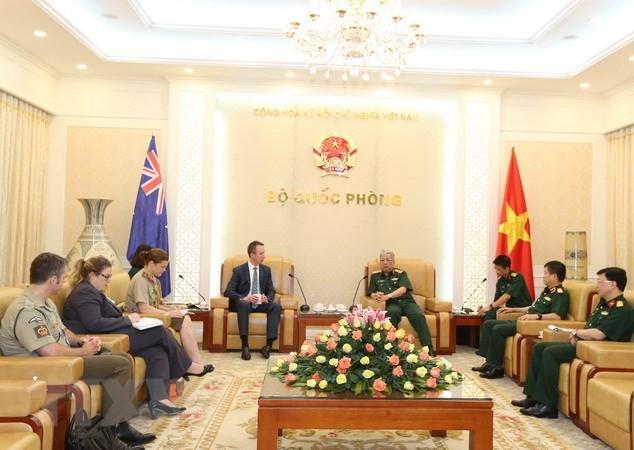 Konsultasi kerjasama pertahanan Vietnam-Australia yang ke-12 membahas banyak isi kerjasama - ảnh 1