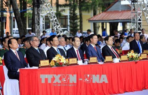 Upacara memperingati ultah ke-130 Hari Lahirnya Presiden Ton Duc Thang - ảnh 1