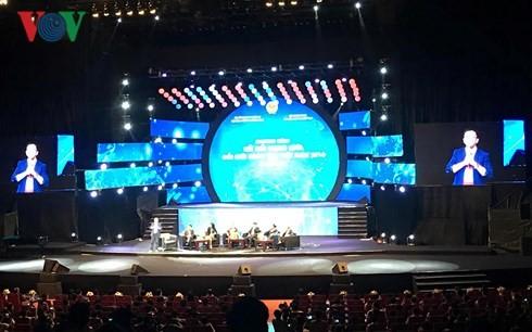 Upacara mengumumkan gagasan jaringan pembaruan kreatif  Vietnam - ảnh 1