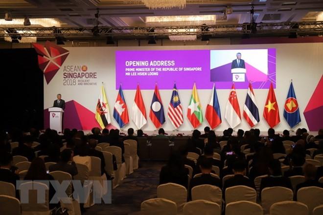 Pembukaan Konferensi Menteri Ekonomi ASEAN yang ke-50 - ảnh 1