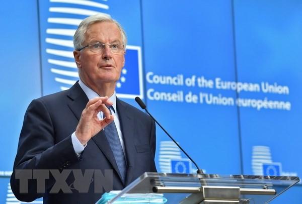 Uni Eropa bersedia mengusulkan hubungan dekat yang belum pernah ada dengan Inggris - ảnh 1
