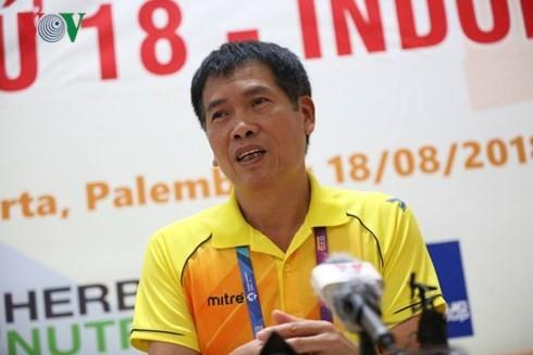 Kontingen olahraga Vietnam menyelesaikan tugas yang telah dilimpahkan di Asian Games 2018 - ảnh 1