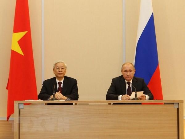 Kalangan pakar dan sarjana Rusia menilai tinggi kunjungan Sekjen KS PKV Nguyen Phu Trong di Federasi Rusia - ảnh 1