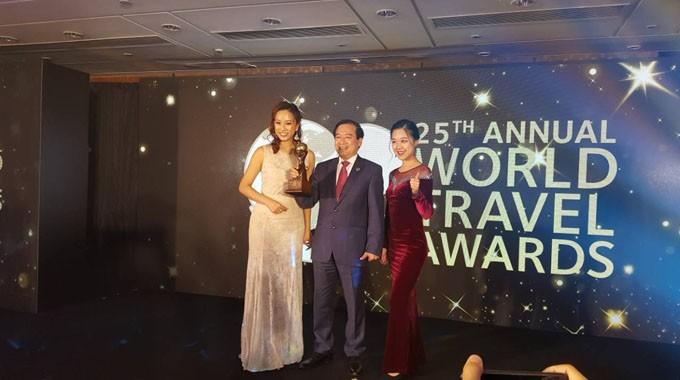 Vietnam menerima hadiah Pariwisata Dunia 2018 - ảnh 1