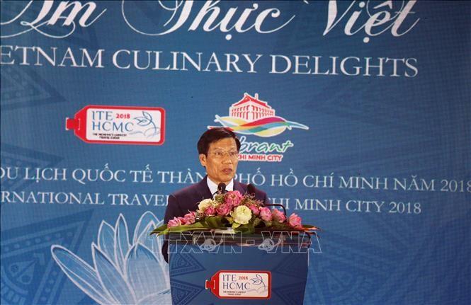 Upacara pembukaan Pekan Raya Pariwisata Internasional Kota Ho Chi Minh tahun 2018 - ảnh 1