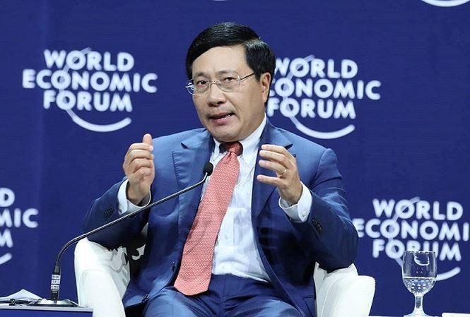 Sesi-sesi perbahasan dalam kerangka WEF ASEAN 2018 - ảnh 1
