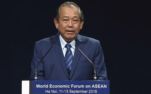 WEF ASEAN 2018 merupakan peluang untuk merasakan sejarah, kebudayaan dan daya hidup yang menggeliat diri dari Vietnam - ảnh 1