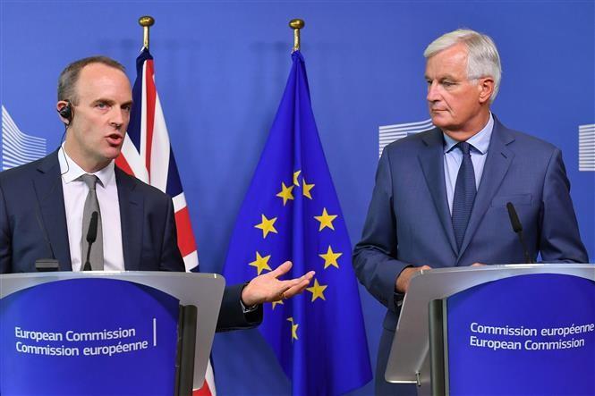 """Inggris: Beberapa pasal dalam rencana : """"Brexit tanpa permufakatan"""" - ảnh 1"""