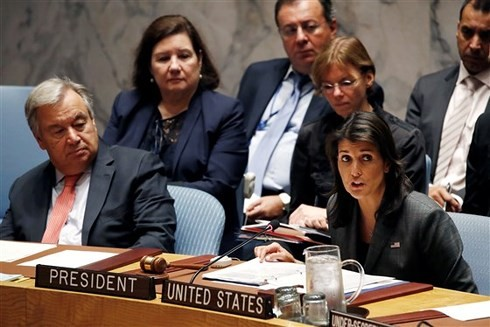 AS dan Rusia berselisih tentang langkah-langkah sanksi terhadap RDRK - ảnh 1