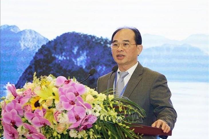 Badan Pemeriksa Keuangan Negara Vietnam mengusulkan solusi turut meningkatkan kualitas Pemeriksaan Keuangan tentang Lingkungan  dalam ASOSAI - ảnh 1