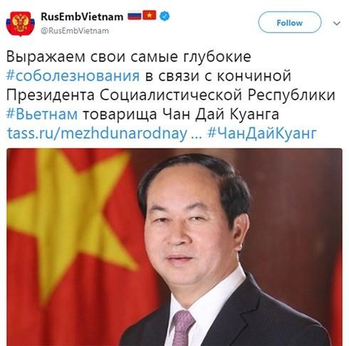 Media internasional secara serempak memberikan dan menyampaikan belasungkawa atas wafatnya Presiden Vietnam, Tran Dai Quang - ảnh 1
